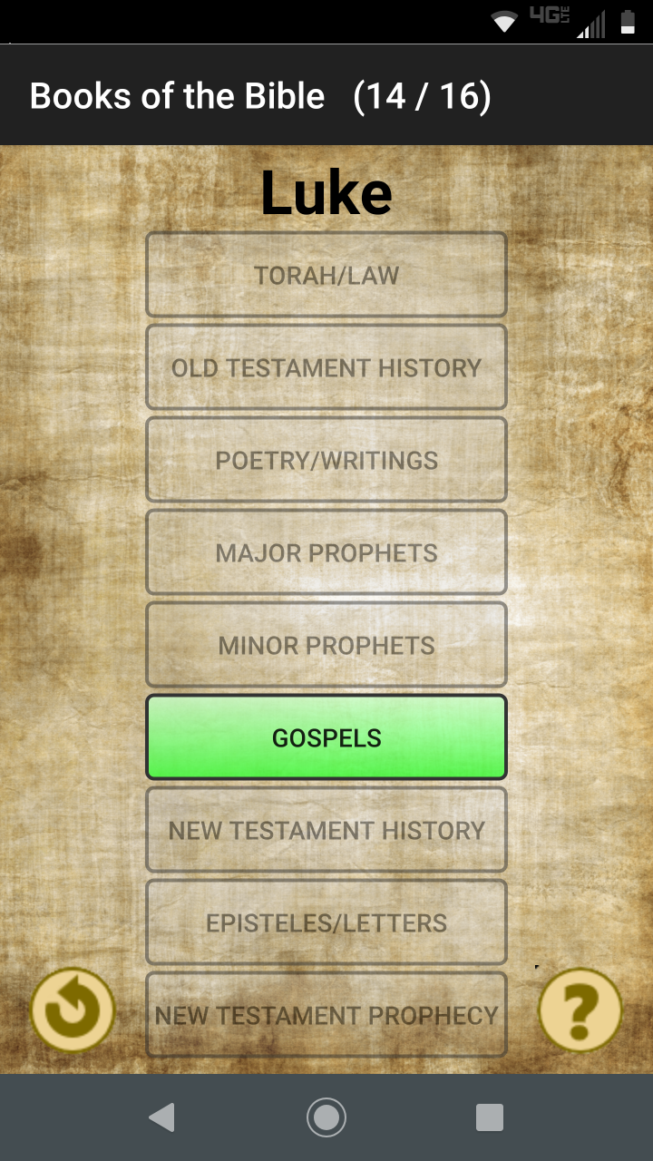 Books of the Bible screenshot 1