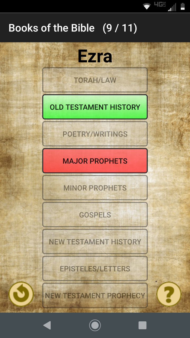 Books of the Bible screenshot 2/